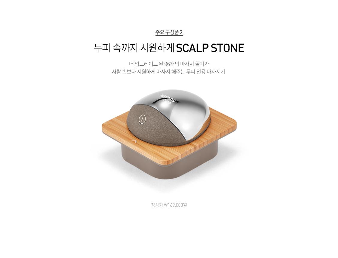 주요 구성품2 -  SCALP STONE