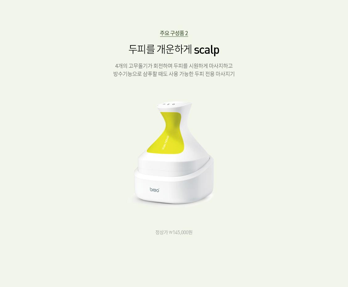 주요 구성품2 -  scalp
